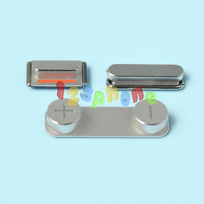 BRAND NEW SIDE VOLUME + MUTE SWITCH + POWER ON OFF BUTTON FOR IPHONE 5 5S