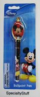 2 - Disney mickey Mouse Ball Point Pen 3+ Adult Or Kids (pq)