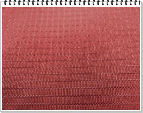 """Water Repellent,58/"""" 210D Nylon Ripstop/""""Brick Red/"""" 60/"""" wide ~ Commercial Grade"""