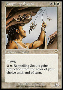 1x-Rappelling-Scouts-Mercadian-Masques-MtG-Magic-White-Rare-1-x1-SP-Card-Cards