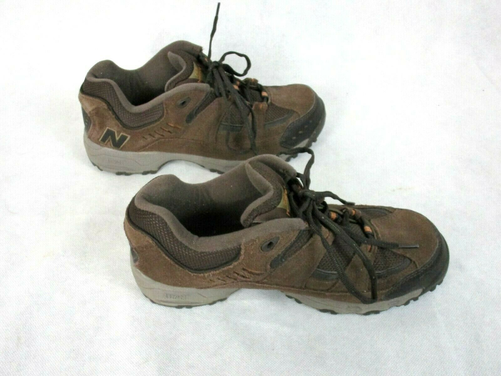 New Balance MW605BR 9 4E Brown Lace Up Outdoor Walking Shoes Trail