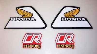 VINTAGE MOTOCROSS 1981 Honda CR80R Elsinore decal sticker kit CR80 Works AHRMA