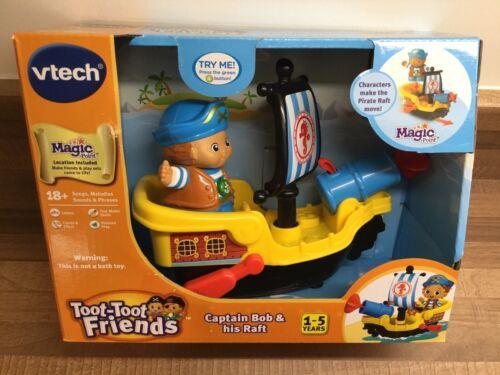VTech Toot-Toot Friends Kingdom Captain Bob /& His Raft NEW