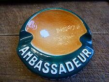 cendrier ambassadeur cusenier en faiënce de longchamp