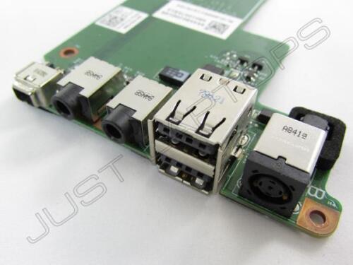 Dell Latitude E5500 Firewire Audio USB DC Power Port Socket Board 0F171C F171C