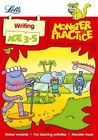 Writing Age 3-5 (Letts Monster Practice) by Becky Hempstock, Carol Medcalf (Paperback, 2014)
