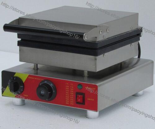Commercial Nonstick 110v 220v Electric 4pcs Lolly Waffle Stick Baker Maker Iron