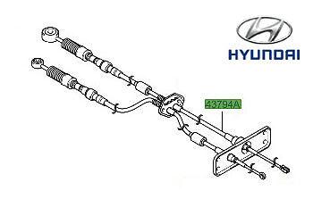 Genuine OE Hyundai Matrix Gear Linkage Cables P//N 4379417201