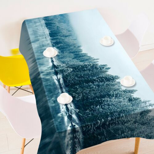 3D Tree lake93 Tablecloth Table Cover Cloth Birthday Party Event AJ WALLPAPER AU