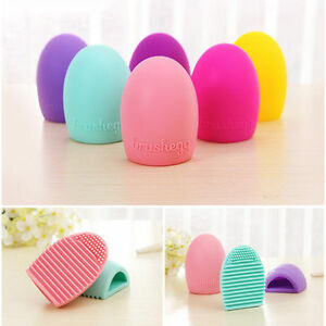 Egg-Cleaning-Glove-Make-Up-Washing-Brush-Scrubber-Board-Cosmetic-Clean-Brushegg