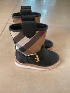 Burberry-Children-Boots-EU-23-US-6-5