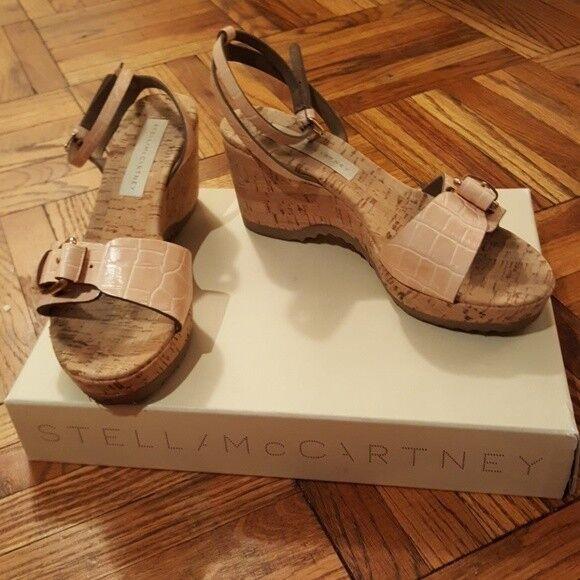 Stella McCartney Linda Linda McCartney Moc Croc Sandales - Größe 38 d0f479
