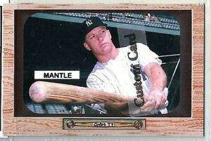MICKEY-MANTLE-NEW-YORK-YANKEES-1955-BOWMAN-STYLE-CUSTOM-MADE-BASEBALL-CARD-BLANK