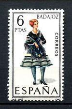 Spain 1967 SG#1830 Provincial Costume Badajoz MNH #A23488