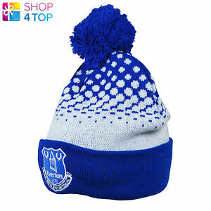 a162e3dc07f EVERTON FC CUFF SKI KNITTED BLUE HAT CAP LICENSED FOOTBALL SOCCER ...