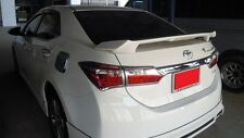 REAR SPOILER WITH LED LIGHT FOR ALL NEW TOYOTA COROLLA ALTIS 2014