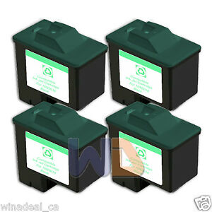 4-BLACK-16-Lexmark-Ink-Cartridge-16-for-All-in-One-X1150-X1270-X2250-X75
