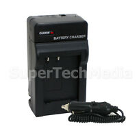Battery Charger For Jvc Aa-vf8u Bn-vf808u Bn-vf815u Bn-vf823u Everio Camcorder