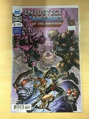 Injustice vs Masters of the Universe Assorted Comics NM DC Comics 2018
