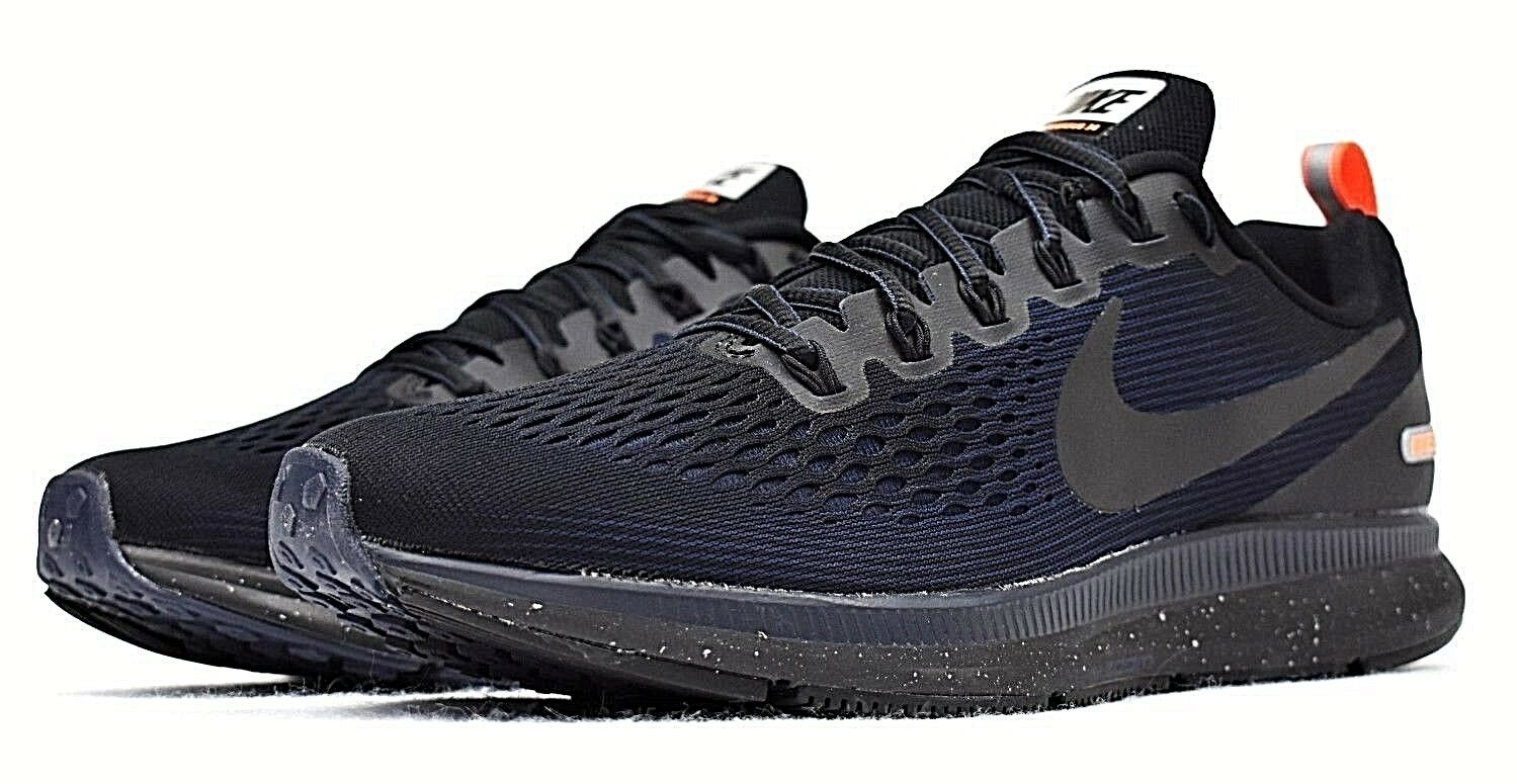 c6ce870d899 NIKE AIR ZOOM PEGASUS 34 SHIELD NEW MEN S RUNNING REPEL OBSIDIAN SHOES  WATER nyrqba2139-Athletic Shoes