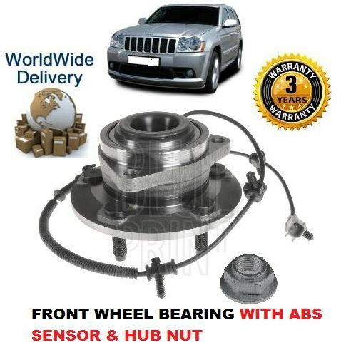 ABS SENSOR FOR JEEP GRAND CHEROKEE 3.0 4.7 5.7 6.1 2005--/> FRONT WHEEL BEARING