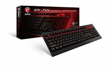 MSI GK-701 Mechanical GAMING Keyboard, Cherry MX Brown Switch, Red LED, 104 Keys