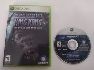 Peter-Jackson-039-s-King-Kong-The-Official-Game-of-Movie-Xbox-360-NO-MANUAL-Tested