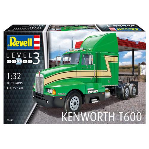 07446 New REVELL KENWORTH T600 Model Kit échelle 1:32 niveau 3