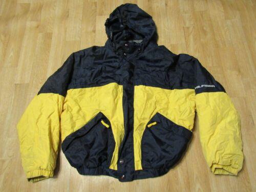 Vintage Tommy Hilfiger Jacket XL Yellow Blue Rain