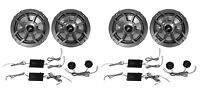 (2) Kicker 43css654 6.5 6-1/2 1200 Watt 4-ohm Car Audio Component Speaker Sets on sale