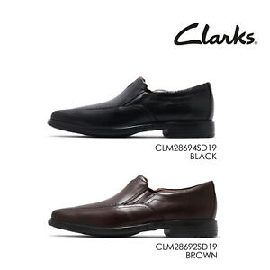 new specials hot sales new product Details about Clarks Un Sheridan Go Leather Men Slip On Casual Loafers  Dress Shoes Pick 1