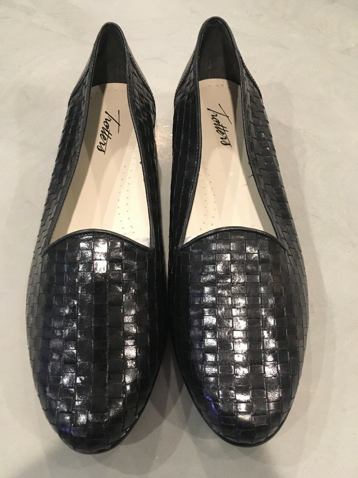 Wouomo TrossoTERS  Liz  Leather Flats Dimensione 9.5WW