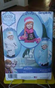 Oop-Simplicity-Disney-Frozen-8029-childs-hats-mittens-scarves-sz-sm-large-NEW