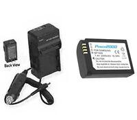 Ed-bp1900us Bp1900 Battery + Charger For Samsung Ev-nx1zzzbmbus Ev-nx1zzzbqbus