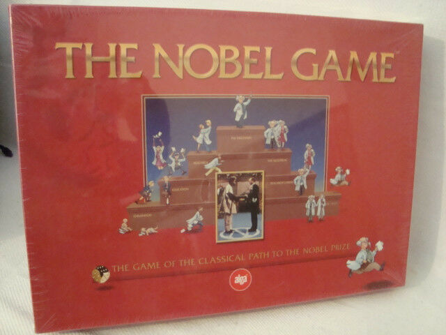 NEW SEALED 2001THE NOBEL GAME OF THE CLASSICAL PATH TO THE NOBEL PRIZE BY ALGA