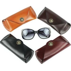 Genuine-Leather-Eyeglasses-Case-Sunglasses-Pouch-Reading-Glasses-Case-Holder