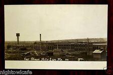 BANGOR & AROOSTOOK RAILROAD CAR SHOPS Milo Junction Derby ME Photo Postcard 1906