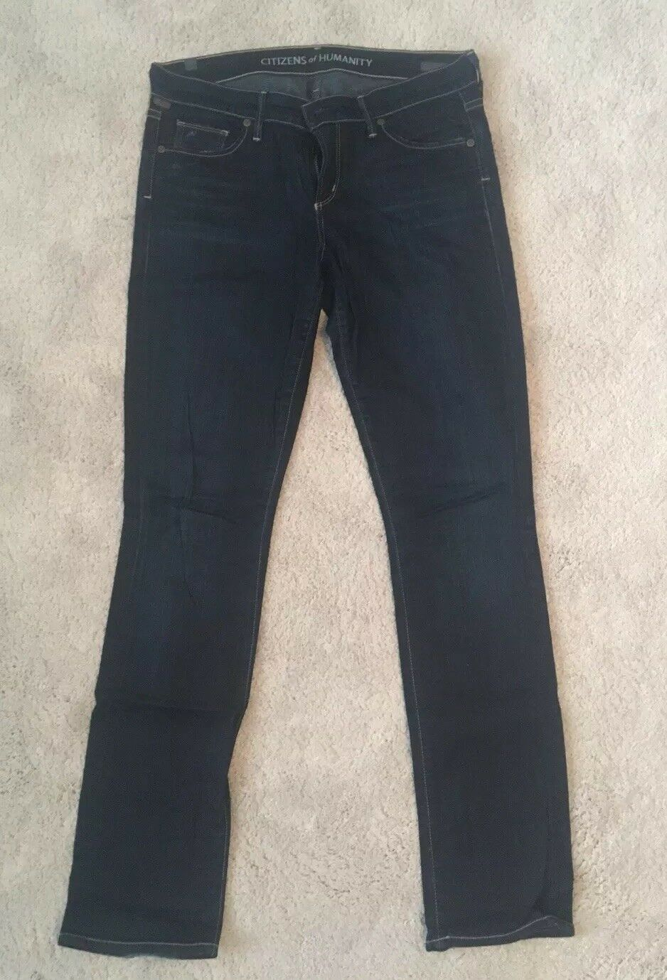 CITIZENS OF HUMANITY AVA Low Rise Straight Jeans Size 28
