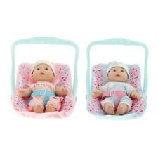 Lifelike Newborn Baby Doll Soft Accessories Toy Gift for Toddler Age 2-6