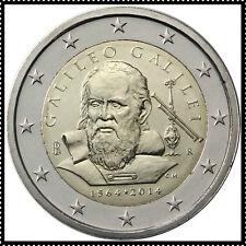 2 EURO *** Italie 2014 Italië *** Galileo Galilei *** Italie 2014 Italië  !!!