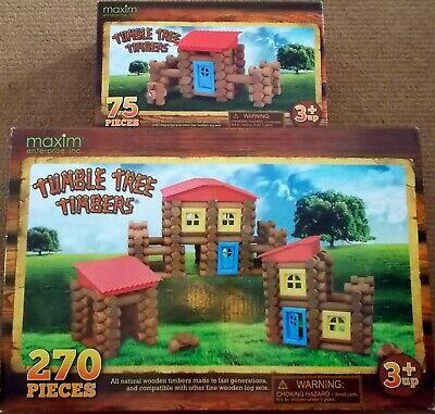 270-Piece Tumble Tree Timbers/' 53020 Tumble Tree Timbers