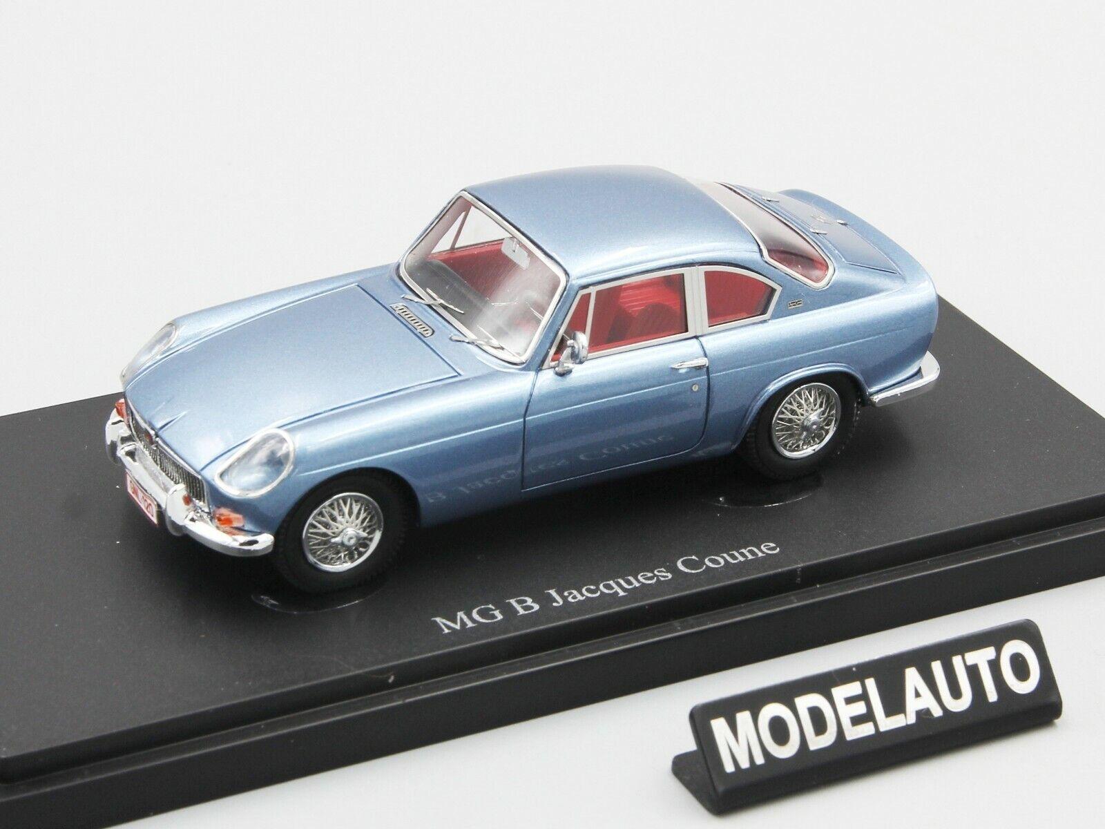 Autocult 1 43 MG  B Jacques Ticoune, bleu-métallique, Belgique, 1964 L. E. 333 pcs  2018 dernier