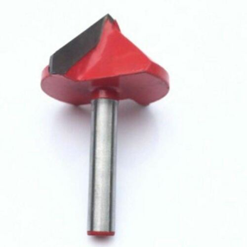 1pc Tungsten Steel V Groove Bit 90 Degree  Router Bits Mayitr For Engraving W
