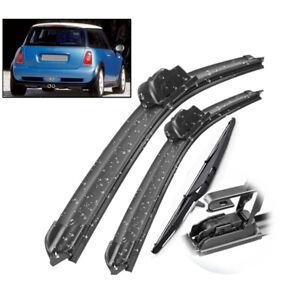 Front-Rear-Windscreen-Wiper-Blades-3Pcs-For-Mini-Cooper-S-R50-R53-01-04-19-034-18-034-12
