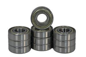 Qty. 10 15x35x11 6202-ZZ C3 Metal Shielded Ball Bearing