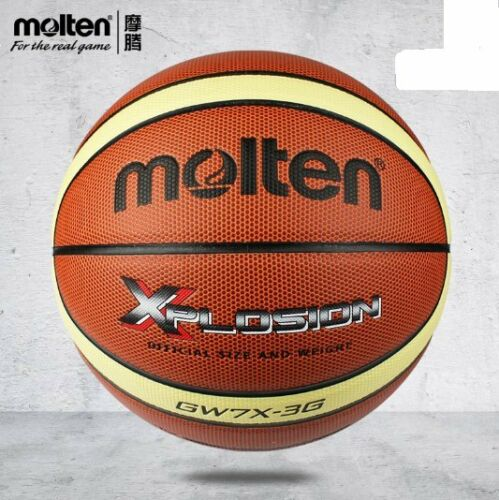 Men Leather Molten Official Size 7 Indoor Outdoor 29.5/'/' GW7X-3G Basketball NEW