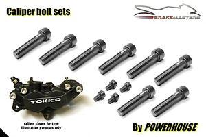 Details about Suzuki GSXR 750 K1-K3 01-03 Stainless joint bolt set Tokico  front brake calipers