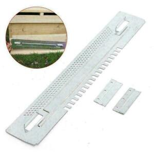 Bee Hive Sliding Mouse Guard Travel Gate Beekeeping Enter Equipment 390mm Length