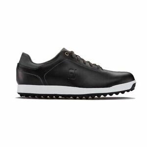 new footjoy contour casual golf shoe 2019 black / charcoal