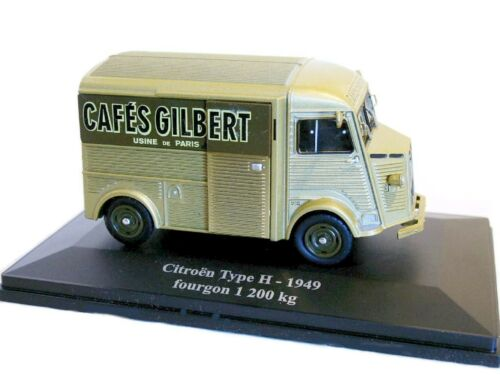 CITROEN H HY FOURGON 1200 KG PUB 1//43  ELIGOR 1949 CAFE GILBERT